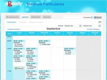 Vista Agenda - Agendy.com