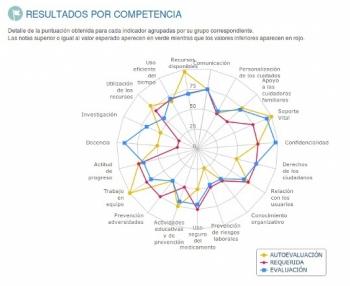Grnefica Resultados por Competencias