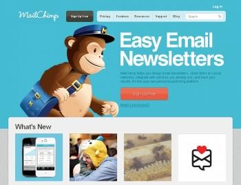 Pagina de MailChimp
