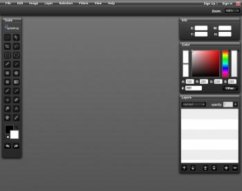 Editor de imagenes en real