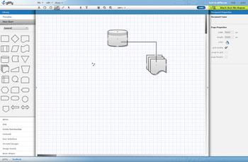 Mesa de trabajo para diagramas y organigramas