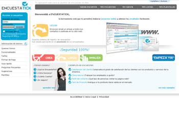 Imagen del portal de Encuestas